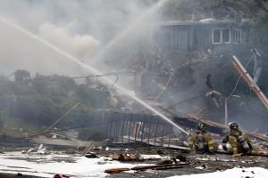 Gas explosion destroys Billings home