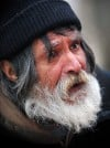 Paul Sorensen, a longtime homeless man