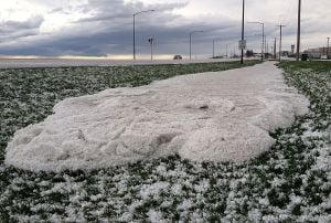 Storm brings golf ball-sized hail to Billings area