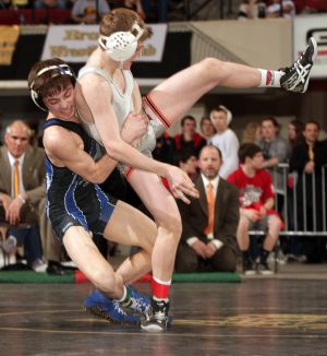 Prep wrestlers hit the mats this weekend