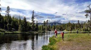 Protected habitat, beauty makes Yellowstone perfect for fishing