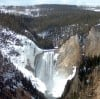 Grand Canyon of Yellowstone in early Spring