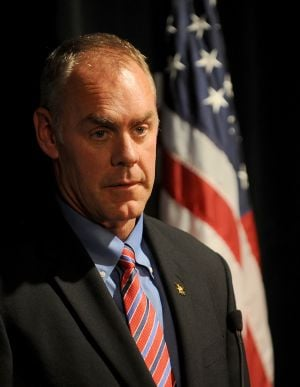 Navy hasn't released Zinke's records yet