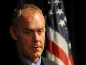 Zinke seeking quick release of military record