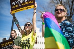 Wyoming won't appeal gay marriage ruling; couple can wed starting Tuesday