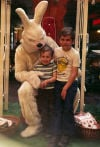 The Easter Bunny at Rimrock Mall, 1977