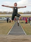 West's Tyler McKay wins the triple jump