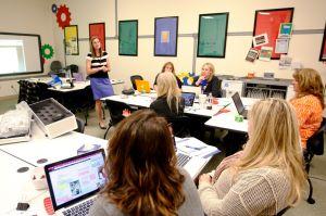 Teacher tech: Lab introduces SD2 educators to cutting-edge tools