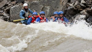 Whitewater boating rides wave of exceptional runoff