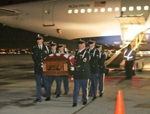 After being killed in action during WWII, a Montana Airman's body finally comes home