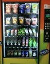 Products in the new vending machines