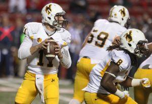 Wyoming quarterback Colby Kirkegaard hitting his stride