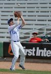 Royals' Kolby Reed catches a pop up