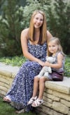 Britney May and daughter, Aliyah