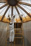 Restored Butte courthouse dome makes debut Friday