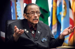 Tribal leader: 'If I thought it was hopeless, I wouldn't be here""