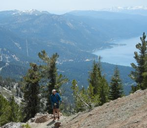 'Tin Man' treks Sierras on titanium knees