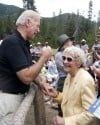 Joe Biden and Ruth MacDonald