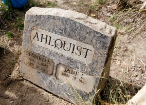 Headstone found on banks of the Yellowstone should soon be returned to rightful owner