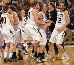 Comeback kids: West girls rally in 4th quarter, then edge Capital in OT