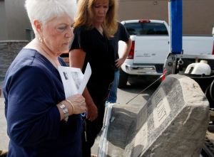 Headstone found on banks of the Yellowstone returned to owner