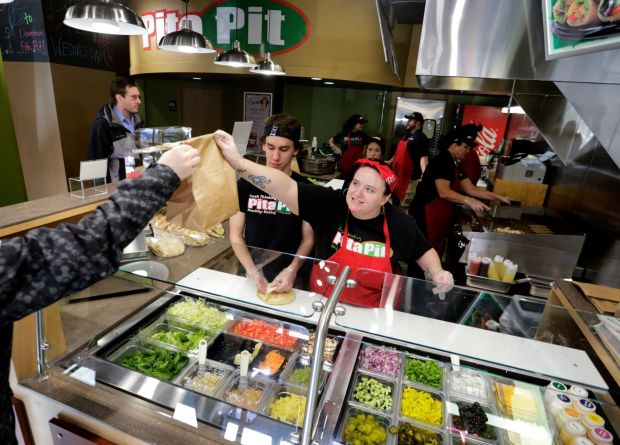 Pita Pit opens in downtown Billings
