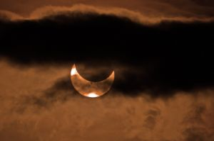 Feature photos: Partial solar eclipse over Montana