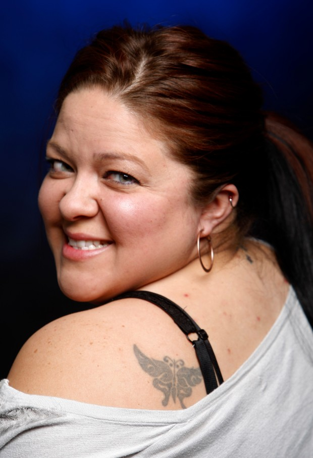 Amelia McDanel, 34, got several tattoos before, during and after she ...