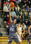 Kendal Manuel of Skyview scores during the fourth period