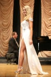Olivia Dowler compete in Miss Montana