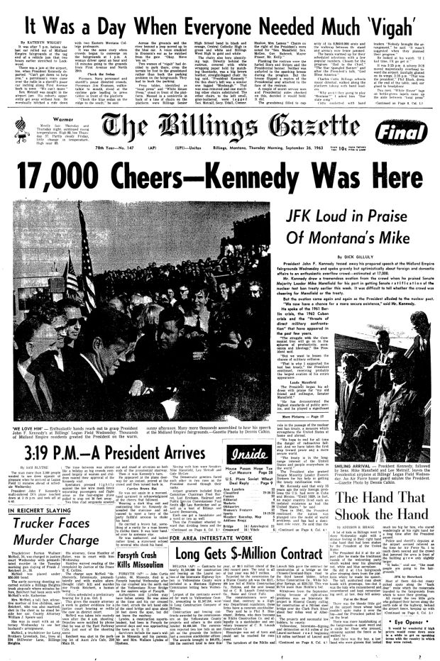 50 years ago this week...