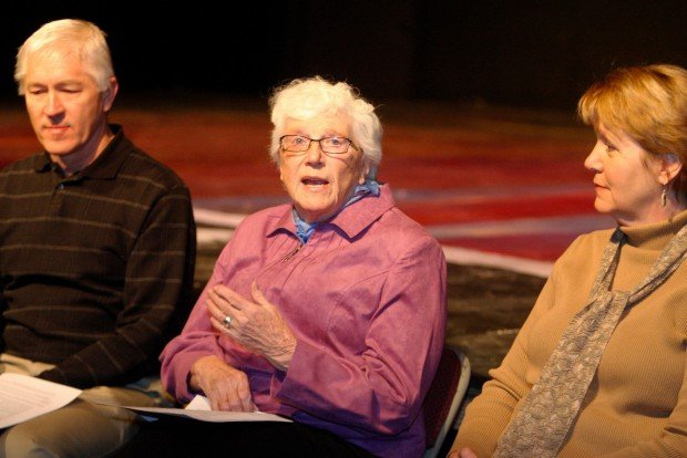 Venture Theatre board member Joan McCracken