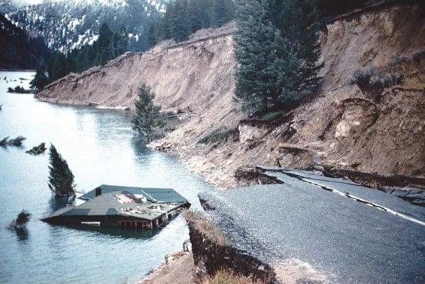 Remembering The Hebgen Lake Earthquake Of 1959 Montana