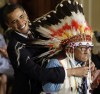 Crow Chief receives Medal of Freedom