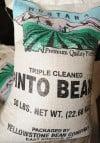 50-pound bag of premium beans