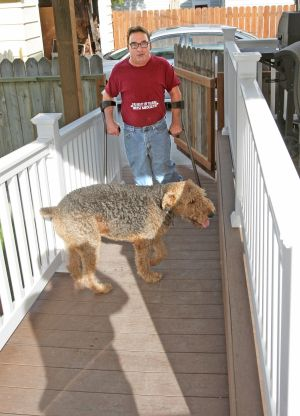 Gary Hauck's handicap accessible home