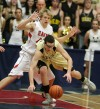 Danny Robison of Billings West loses a ball