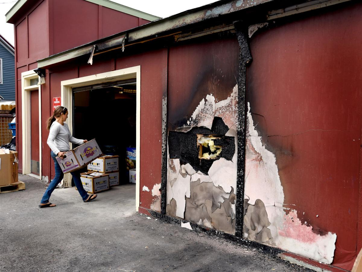 2 Fires Burn Missoula Food Bank Montana News