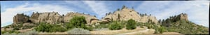 Panorama: Pictograph Cave State Park