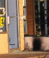 Firebomb targets medical marijuana business