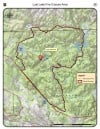 Lost Lake fire closure map