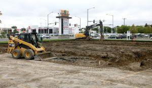 Construction begins on Chipotle restaurant at West Park Promenade