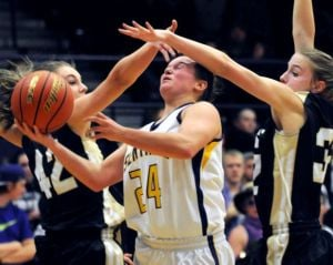 Sentinel girls give Spartans a split with West