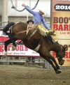 Jesse Kruse of Great Falls rides Scarry Larry