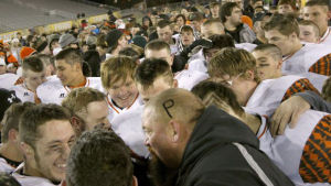 Memorial service held for Powell football coach
