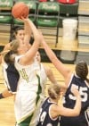 Rocky's Jillian Stanek, 43, puts up a shot