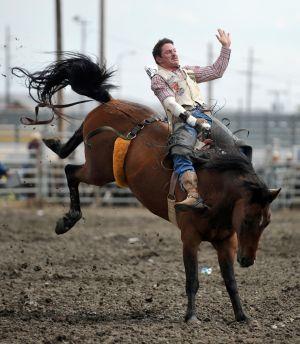 Rain, mud doesn't stop cowboys, fans at MetraPark