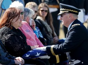 Finally home: WWII POW laid to rest after more than 70 years