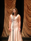 Katelyn Becker of Livingston sings
