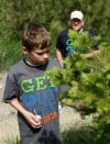Max Getlinger learns about fir trees